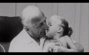 Harry Warner, founder Warner Brothers with Granddaughter Cass.