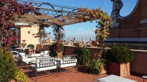 View Terrace of Art Deco Suite